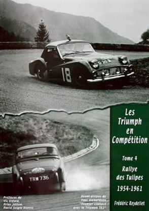 Picture of LES TRIUMPH EN COMPETITION TOME 4: RALLYE DES TULIPES 1954-1961