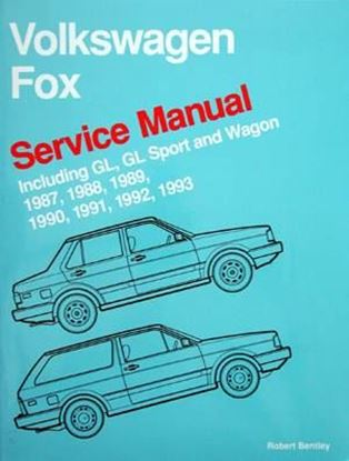Picture of VOLKSWAGEN FOX SERVICE MANUAL INCLUDING GL, GL SPORT AND WAGON 1987-1993