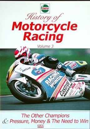 Picture of HISTORY OF MOTORCYCLE RACING VOL. 3 (Dvd)