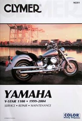 Picture of YAMAHA V-STAR 1100 1999-2004 CLYMER REPAIR MANUALS M281