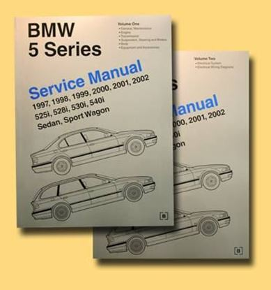 Immagine di BMW 5 SERIES SERVICE MANUAL 1997/2002