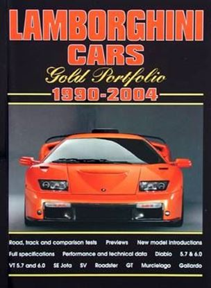 Picture of LAMBORGHINI CARS 1990-2004 GOLD PORTFOLIO