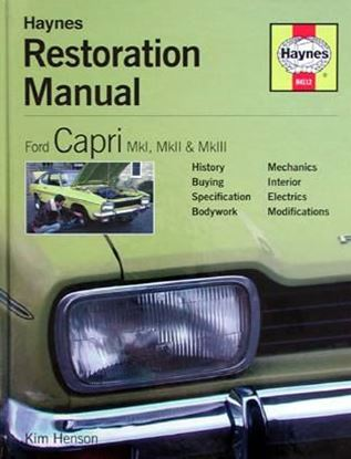 Immagine di FORD CAPRI MkI. MkII & MkIII RESTORATION MANUAL N. H4112