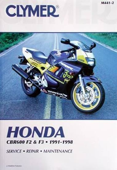 Immagine di HONDA CBR600 F2 & F3 1991-1998 CLYMER REPAIR MANUALS M441-2