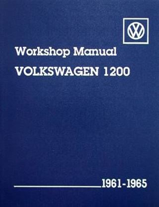 Immagine di VOLKSWAGEN 1200 WORKSHOP MANUAL 1961-1965