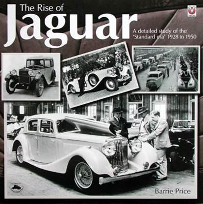 Immagine di THE RISE OF JAGUAR 1928 TO 1950 A DETAILED STUDY OF THE STANDARD ERA