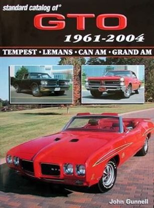 Picture of STANDARD CATALOG OF GTO 1961-2004