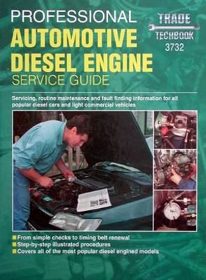 Picture of PROFESSIONAL AUTOMOTIVE DIESEL ENGINE SERVICE GUIDE TECHBOOK SERIES N. 3732