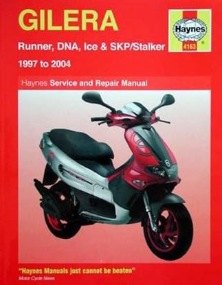 Immagine di GILERA RUNNER, DNA, ICE & SKP/Stalker 1997 to 2004 SERVICE AND REPAIR MANUAL N. 4163
