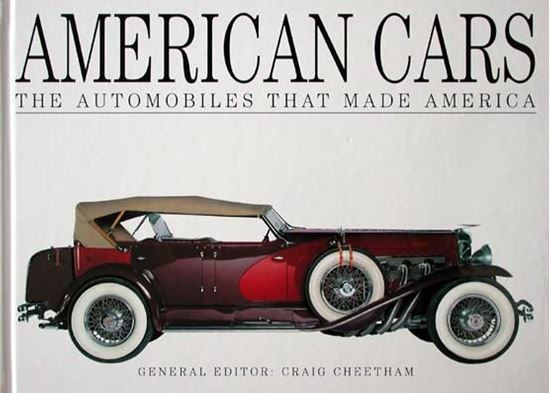 Picture of AMERICAN CARS THE AUTOMOBILES THAT MADE AMERICA