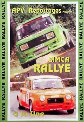 Picture of SIMCA RALLYE A LA UNE (Dvd)
