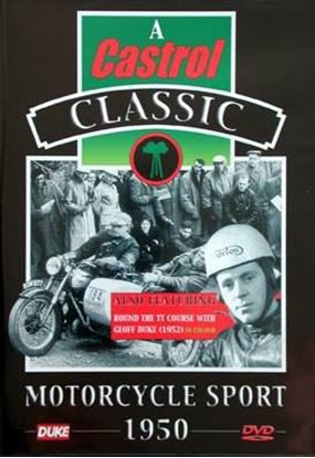 Picture of A CASTROL CLASSIC - MOTORCYCLE SPORT 1950 (Dvd)