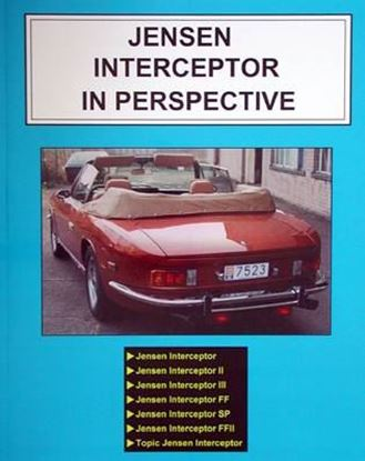 Picture of JENSEN INTERCEPTOR IN PERSPECTIVE