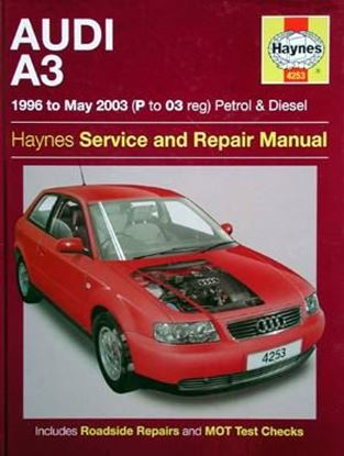 Picture of AUDI A3 1996 to May 2003 PETROL & DIESEL SERVICE AND REPAIR MANUAL NR. 4253
