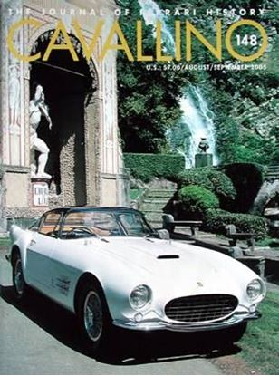 Immagine di CAVALLINO THE JOURNAL OF FERRARI HISTORY N° 148 – AUGUST/SEPTEMBER 2005