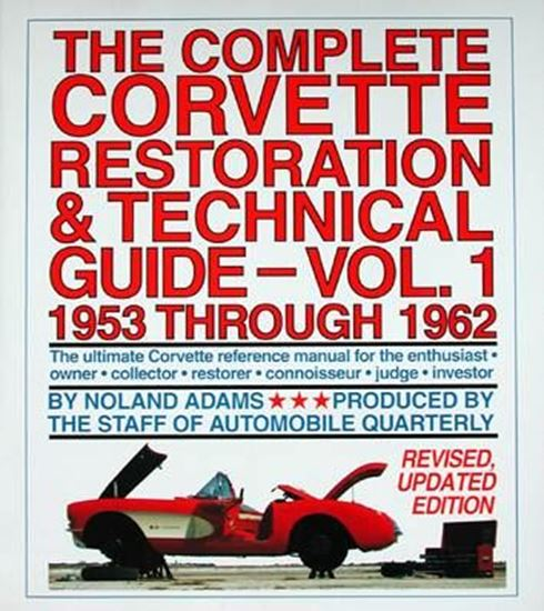 Picture of THE COMPLETE CORVETTE RESTORATION & TECHNICAL GUIDE VOL.1 1953 THROUGH 1962