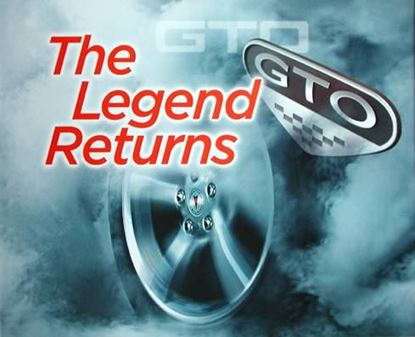 Immagine di GTO THE LEGEND RETURNS (Pontiac)