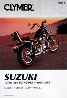 Immagine di SUZUKI VS 700-800 INTRUDER 1985-2004 CLYMER REPAIR MANUALS M481-4