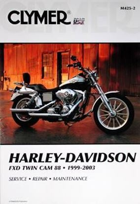 Immagine di HARLEY DAVIDSON FXD TWIN CAM 88 1999-2003 CLYMER REPAIR MANUALS M425-2