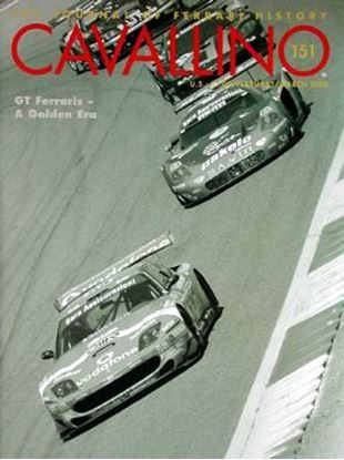 Immagine di CAVALLINO THE JOURNAL OF FERRARI HISTORY N° 151 - FEBRUARY/MARCH 2006