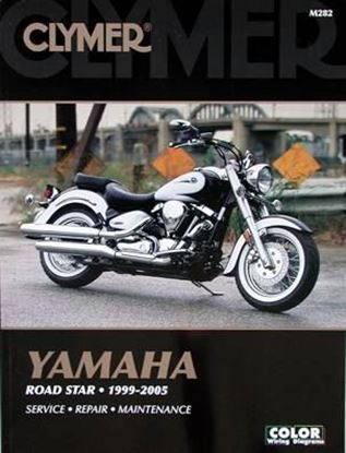 Picture of YAMAHA ROAD STAR 1999-2005 CLYMER REPAIR MANUALS M282