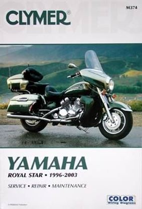 Immagine di YAMAHA ROYAL STAR 1996-2003 CLYMER REPAIR MANUALS M374