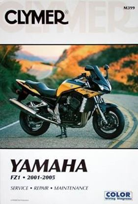 Picture of YAMAHA FZ1 2001-2005 CLYMER REPAIR MANUALS M399