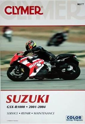 Picture of SUZUKI GSX-R1000 2001-2004 CLYMER REPAIR MANUALS M377