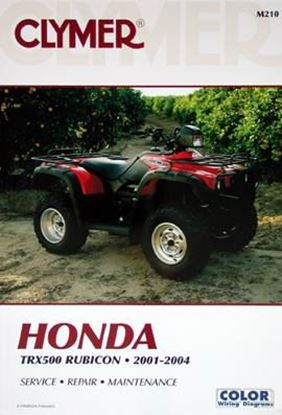 Picture of HONDA TRX500 RUBICON 2001-2004 CLYMER REPAIR MANUALS M210
