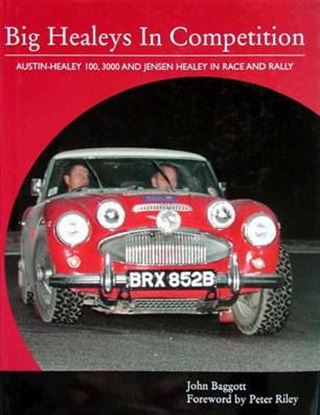 Picture of BIG HEALEYS IN COMPETITION: AUSTIN-HEALEY 100, 3000 AND JENSEN HEALEY IN RACE AND RALLY
