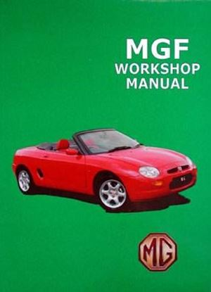 Picture of MG MGF WORKSHOP MANUAL (PART NO. RCL0051ENGBB)