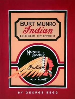 Immagine di BURT MUNRO INDIAN LEGEND OF SPEED