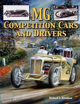 Picture of MG COMPETITION CARS AND DRIVERS