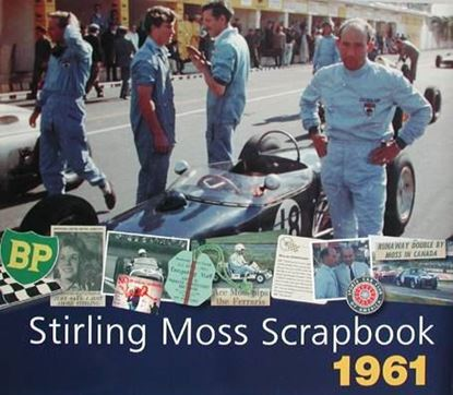 Picture of STIRLING MOSS SCRAPBOOK 1961