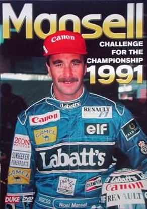 Picture of MANSELL CHALLENGE FOR THE CHAMPIONSHIP 1991 (Dvd)