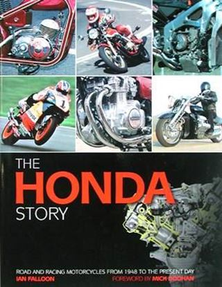 Picture of THE HONDA STORY: ROAD AND RACING MOTORCYCLES FROM 1948 TO THE PRESENT DAY
