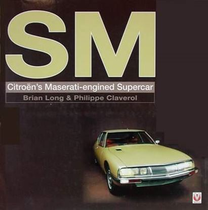 Picture of SM CITROEN'S MASERATI-ENGINED SUPERCAR. Classic Reprint Series