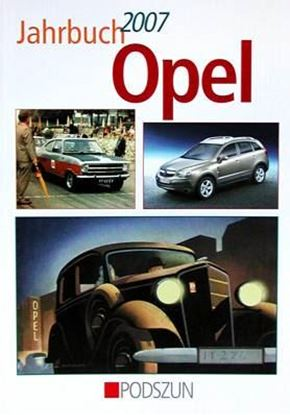 Picture of JAHRBUCH OPEL 2007