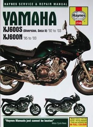 Immagine di YAMAHA XJ600S (Diversion, Seca II) '92 to '03 e XJ600N '95 to '03 N.E. SERVICE & REPAIR MANUAL N. 2145