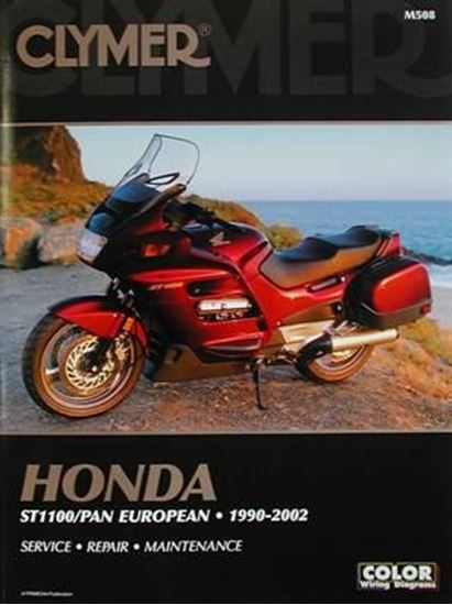 Immagine di HONDA ST1100/PAN EUROPEAN 1990-2002 CLYMER REPAIR MANUALS M508
