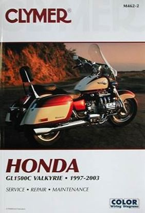 Picture of HONDA GL1500C VALKYRIE 1997-2003 CLYMER REPAIR MANUALS M462-2