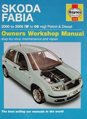 Picture of SKODA FABIA PETROL & DIESEL 2000 to 2006 (W to 06 reg) ) OWNERS WORKSHOP MANUALS N. 4376