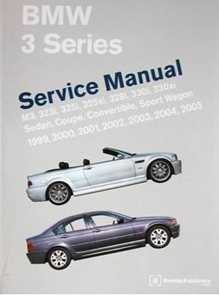 Immagine di BMW 3 SERIES SERVICE MANUAL 1999-2005