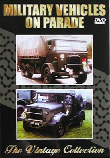 Picture of MILITARY VEHICLES ON PARADE – THE VINTAGE COLLECTION (Dvd)