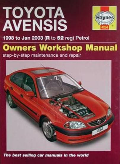Picture of TOYOTA AVENSIS PETROL 1998-2003 OWNERS WORKSHOP MANUALS N. 4264