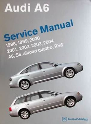 Picture of AUDI A6 SERVICE MANUAL 1998-2004