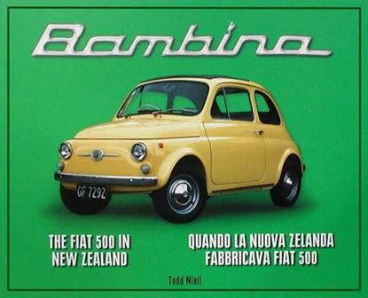 Picture of BAMBINA THE FIAT 500 IN NEW ZEALAND