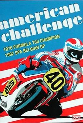 Picture of AMERICAN CHALLENGE: 1978 FORMULA 750 CHAMPION – 1982 SPA BELGIAN GP (Dvd)