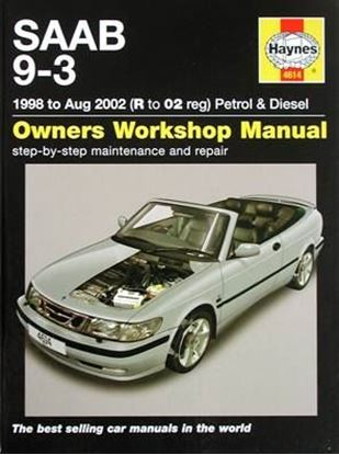 Picture of SAAB 9-3 1998 to Aug 2002 PETROL & DIESEL OWNER WORKSHOP MANUAL N. 4614