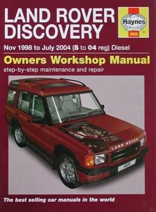 Immagine di LAND ROVER DISCOVERY Nov 1998 to July 2004 DIESEL OWNER WORKSHOP MANUAL N. 4606